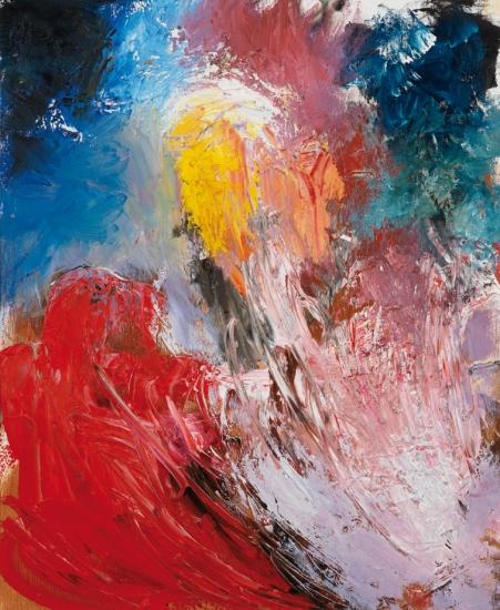 Farben der Lüste 3 | Öl auf Leinwand | 56 x 46 cm | gerahmt | 2006