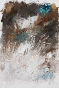 Ohne Titel | Öl auf Leinwand | 68 x 46 cm | 2007